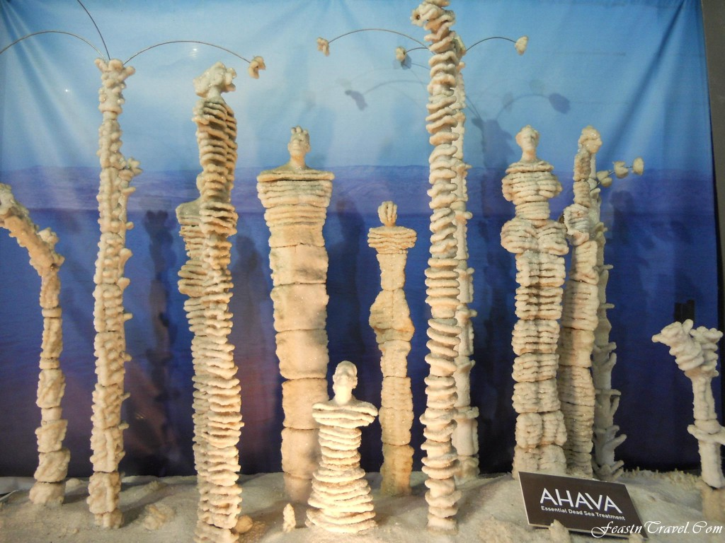 Ahava Salt Sculpture