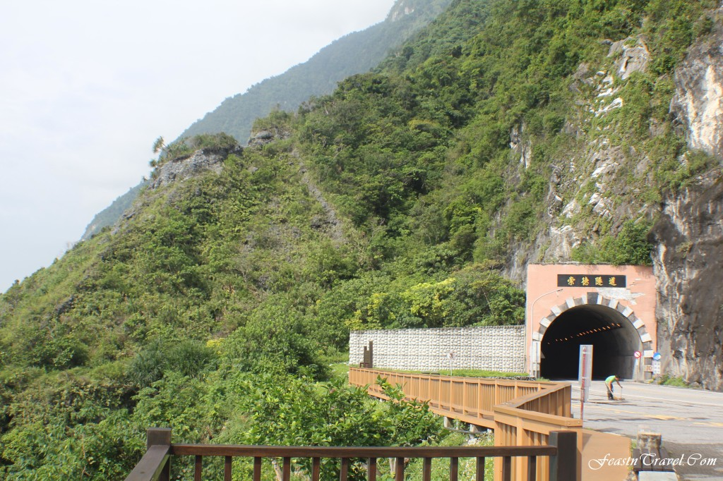Old Road near Qingshui Cliff