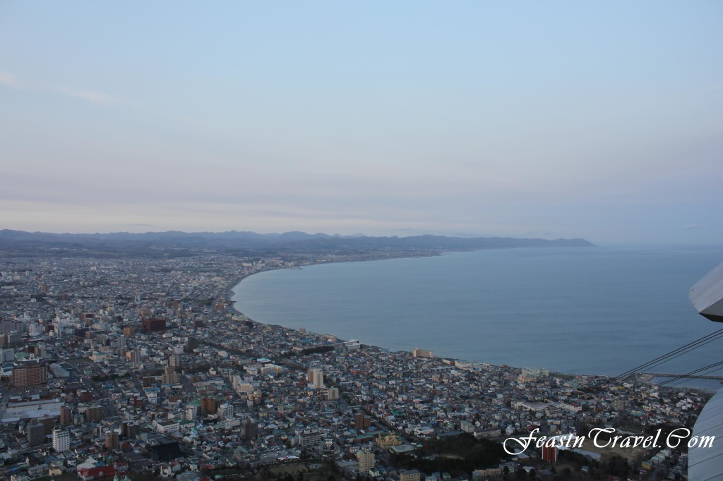 Mt Hakodate Day View
