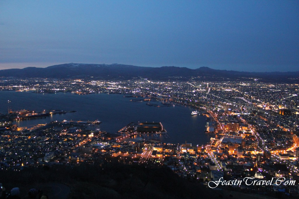 Mt Hakodate Sunset View