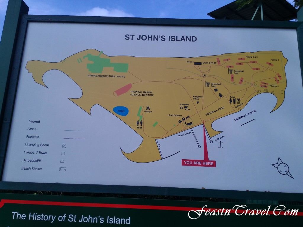 St Joh's Island Map